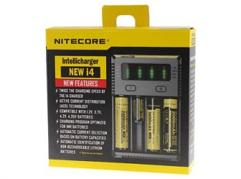 All-New NITECORE i4 Intellicharger Smart Battery Charger