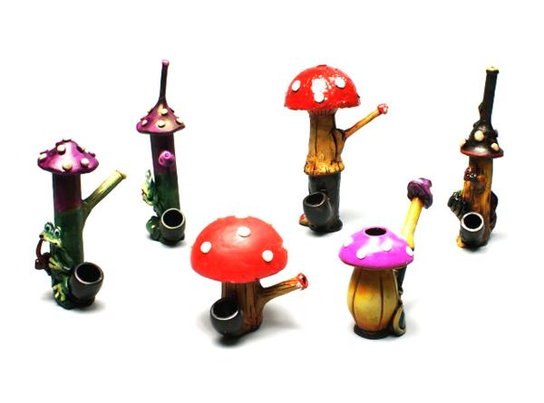 Mushroom Resin Pipe