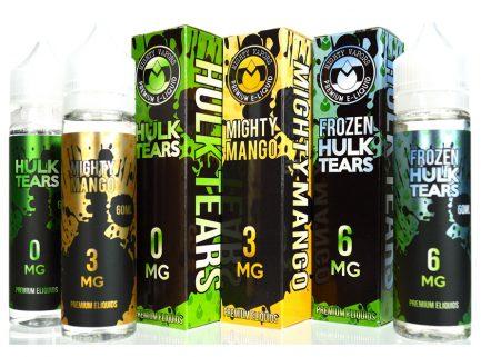 Hulk Tears/Frozen Hulk Tears/Mighty Mango 60mL Premium E-Juice by Mighty Vapors