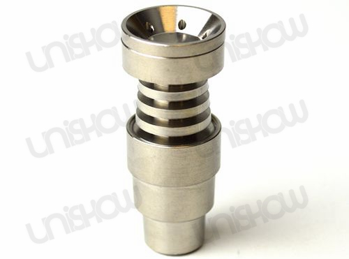 14mm&19mm 4-In-1 Domeless Titanium Nail w/ Male and Female Joint
