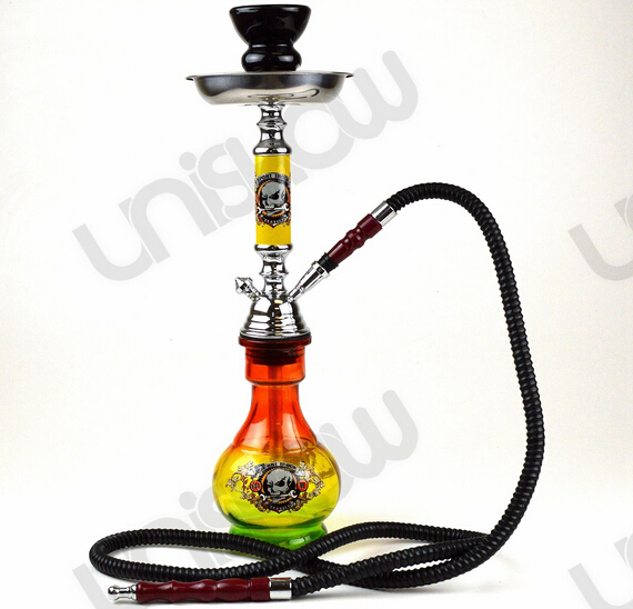 "18"" Single Hose Hookah (Bob Marley)"