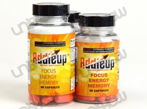 AddieUp Dietary Supplement Power Focus Energy (60 Capsules)