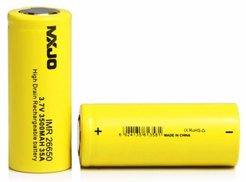 MXJO IMR 26650F 3500MAH 35A 3.7V Flat Top High Drain Battery