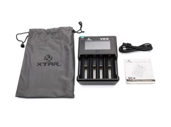 XTAR VC4 LCD Screen USB Li-ion/Ni-MH Battery Charger