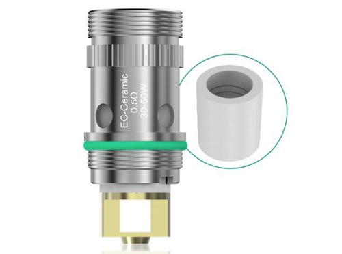 Eleaf EC-Ceramic 0.5Ω Coils for iJust S/iJust 2/iJust 2 Mini/Melo/Melo 2/Melo 3/Melo 3 Mini/Lemo 3 (5pcs)