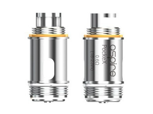 Aspire PockeX SS316L U-Tech Coils (5pcs)