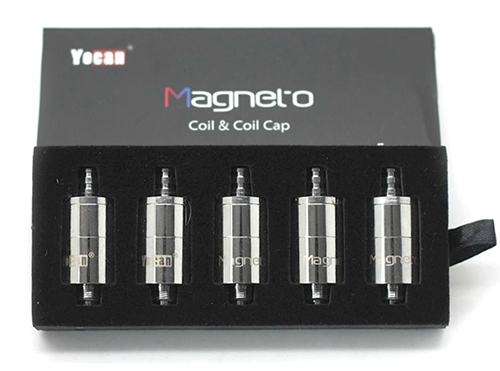 Yocan Magneto Ceramic Miracle Coil w/ Magnetic Coil Cap (5pcs)