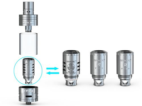 SMOK TFV4 RBA (R1/R2) (Single Pack)