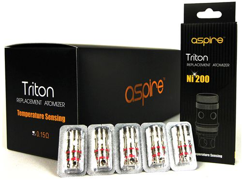 Aspire Triton/Atlantis 0.15Ω Ni200 Coils (5pcs)