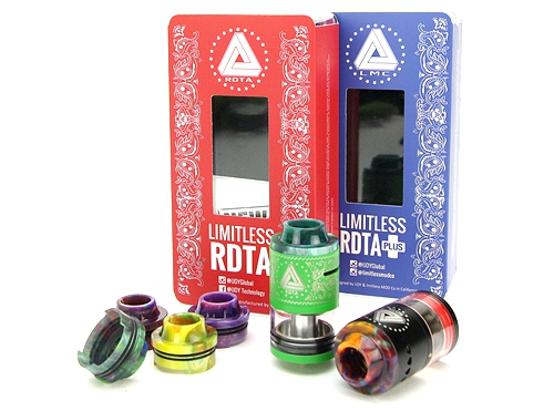 Premium Quality Epoxy Resin Top Cap for IJOY Limitless RDTA Plus V2/Limitless RDTA Classic Edition