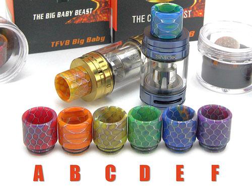Epoxy Resin Drip Tip for SMOK TFV8/TFV8 Big Baby/TFV12
