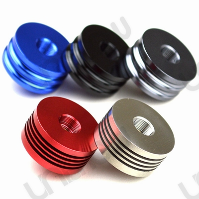 Aluminum 510 Finned Heat Sink for Atomizers