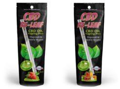 CBD Re-Leaf 0.5mL Disposable CBD Oil Vaping Pen
