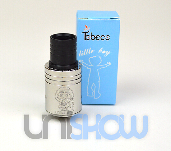 Tobeco Little Boy Style Wide Bore Rebuildable Dripping Atomizer
