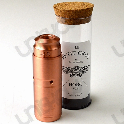Le Petit Gros 18350 Mechanical Mod with Hobo RDA Clone (COPPER)