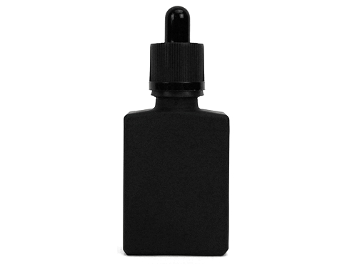 30mL Black Frosted Glass Dropper Bottle (10pk)