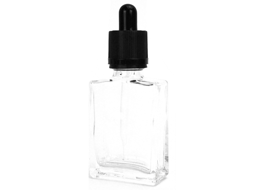 30mL Clear Glass Dropper Bottle (10pk)