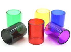Colored Pyrex Glass Tube for SMOK TFV8 Big Baby 5mL Tank