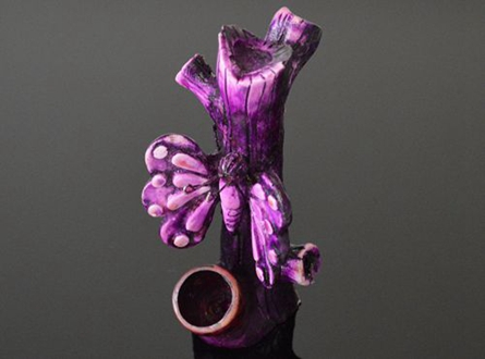 Hand Crafted Figurine Resin Smoking Pipe H-5""