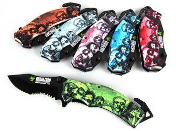 Biohazard Zombie Survival Gear Knife