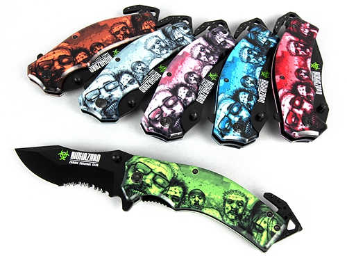 Biohazard Zombie Survival Gear Knife