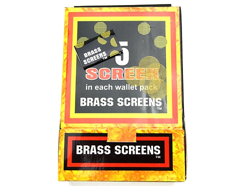 Brass Screen Gold Color (500pk)