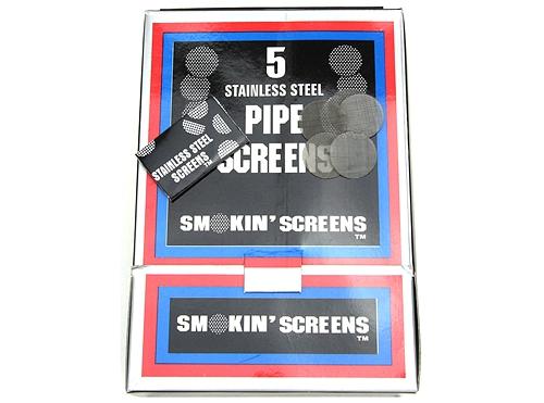 Pipe Screen Silver Color (500pk)