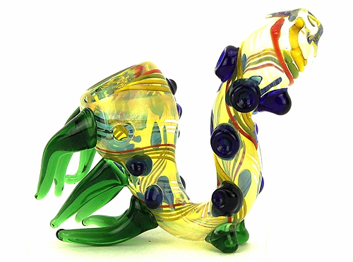 Glass Sherlock Pipe