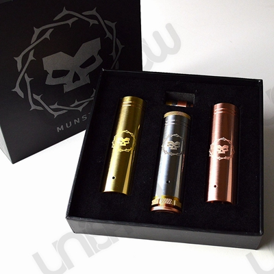Tesla Munstro 18650 / 18500 Mechanical Mod (3-Tube Set)