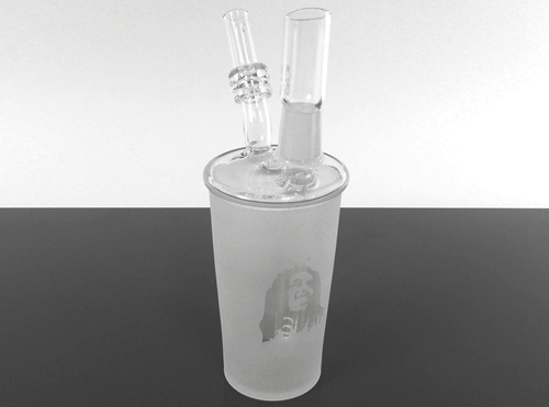 """Glass Water Pipe (7"""")"""
