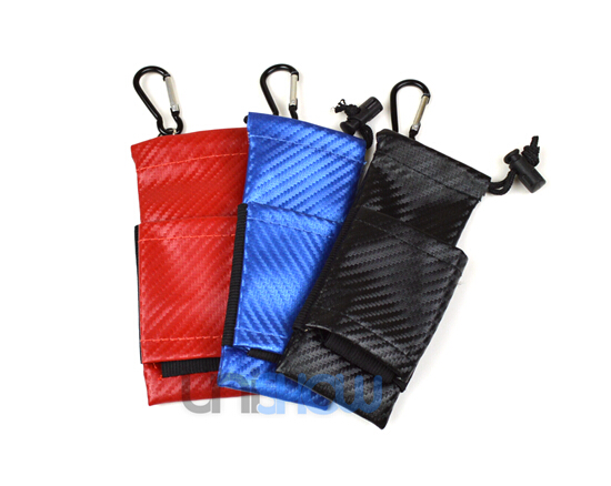 Tobeco Double-Layer Drawstring Storage Pouch Bag for E-Cigarettes