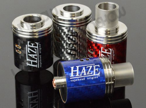 CloudCig Carbon Fiber Haze Rebuildable Dripping Atomizer