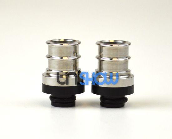 Stainless Steel/POM Hybrid 510 Drip Tip