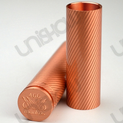 Mankos Style 18650 / 18500 Mechanical Mod 2-Tube Set