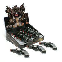 Refillable shocking Gun Lighter /box