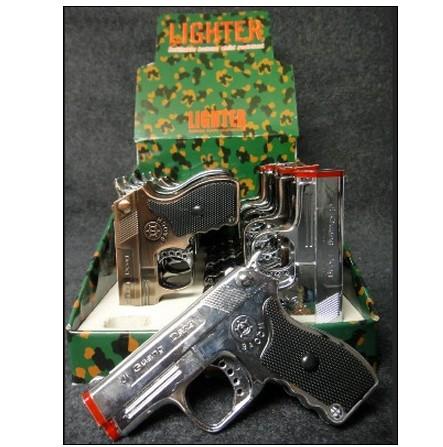 Torch Gun Lighter w/ Laser /4 PCS