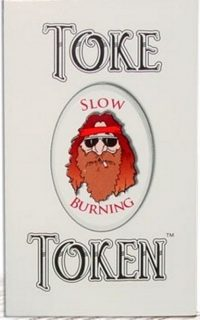 Toke Token Rolling Paper 1.0,72CT in a jar.