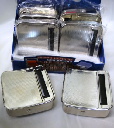 Automatic Cigarette Roller & Storage Box
