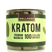 Wellness Premium Maeng DA Kratom Xtra-Large 100