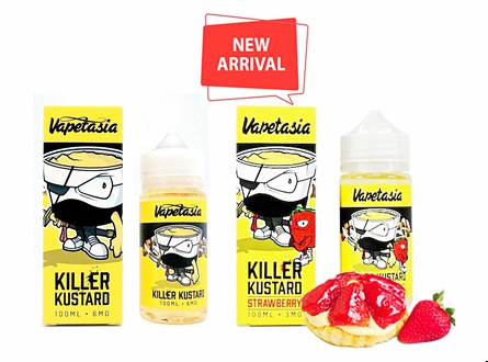 Killer Kustard 100mL E-Liquid by Vapetasia