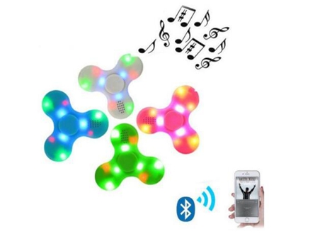 Wireless Bluetooth Speakers LED Fidget Spinner