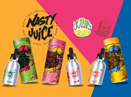 Nasty Juice 60mL E-Liquid - Yummy Fruity Series