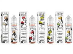 Mr Meringue, Ms Meringue, Uncle Meringue & Aunt Meringue 60mL E-Liquid by Charlie's Chalk Dust