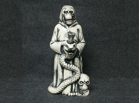 """9"""" Tall Ceramic Figurine Pipe"""