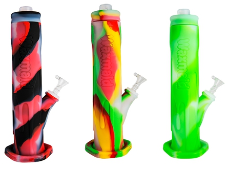 """Waxmaid Icer 12"""" Mega Silicone Water Pipe"""