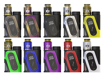 iJoy CAPO Squonker 100W TC & Combo RDA Triangle Starter Kit w/ 20700 Battery