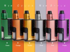 Sigelei Fuchai Squonk 213 150W TC 21700/20700/18650 Starter Kit with Battery