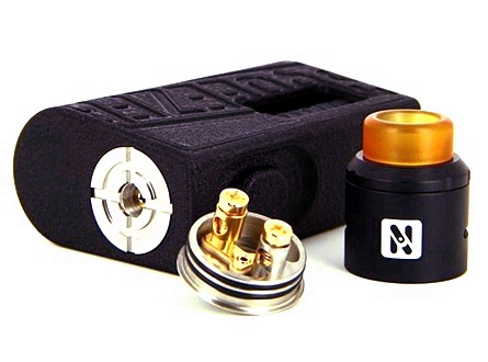 Hugo Vapor Squeezer 18650/20700 BF Squonk Mechanical Mod & N RDA Kit