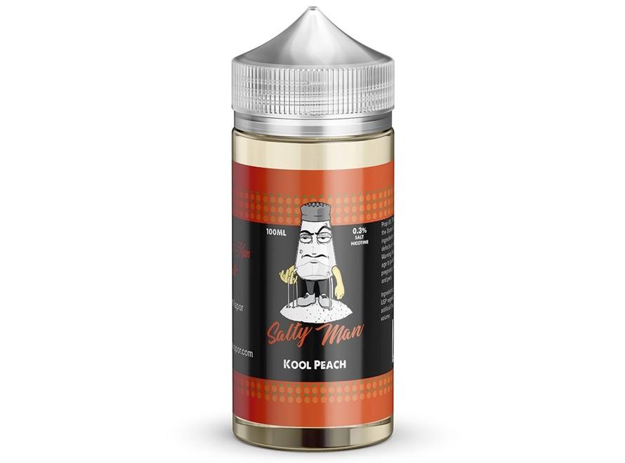 Salty Man 30mL 5% Nicotine Salt E-Liquid - Kool Peach