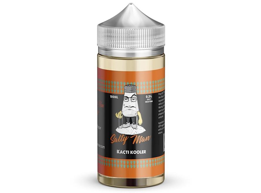 Salty Man 30mL 5% Nicotine Salt E-Liquid - Kacti Kooler